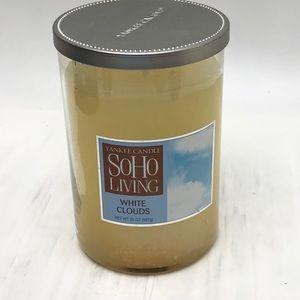 Yankee Candle SOHO Living White Clouds 20 oz Jar